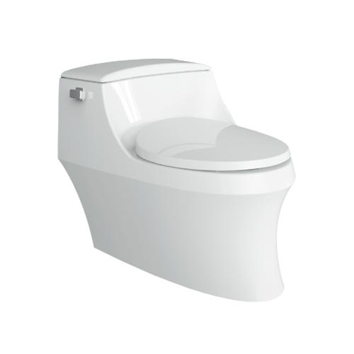 KOHLER สุขภัณฑ์แบบชิ้นเดียว ใช้น้ำ 4.8  ลิตร  ซาน ราเฟล แกรนด์ K-8688X-SRT-0 สีขาว
