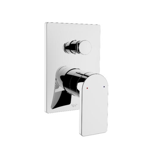 KOHLER ชุดฝาครอบและวาล์วผสมฝังกำแพงลงอ่างอาบน้ำและยืนอาบโมดูโล  คอมโพส K-73108T-B4-CP