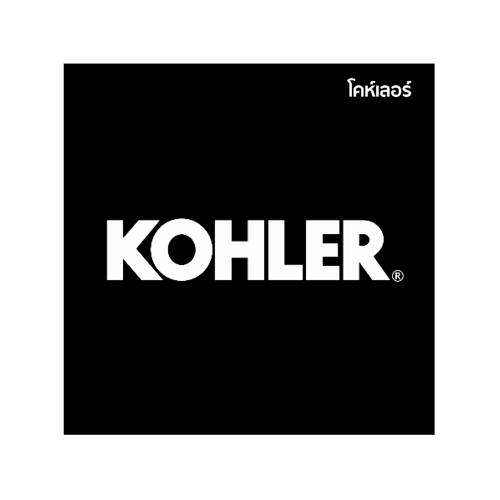 KOHLER ข้อต่อก๊อกอ่างอาบน้ำ  FINIAL สีโครเมี่ยม
