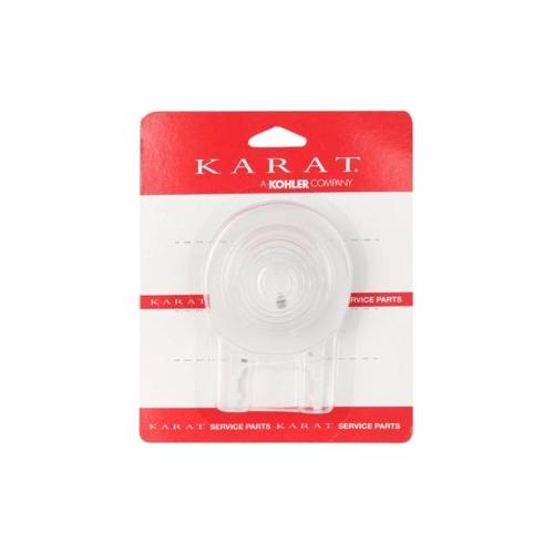 karat ชุดฝาเปิด-ปิดพร้อมซีลยาง K-722M สีชมพู