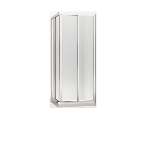 KOHLER ตู้อาบน้ำบานเลื่อน กระจกเคลือบโอดิออน1x1 K-98642X-C-0 สีขาว