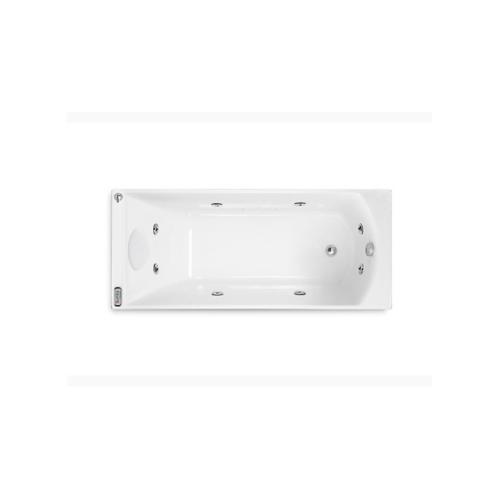 อ่างอาบน้ำระบบน้ำวนและอัดอากาศ รุ่น แพททิโอ K-97260X-G2-0  ขาว