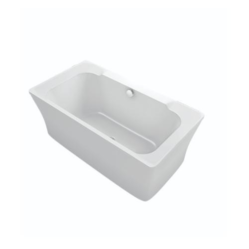 KOHLER  อ่างอาบน้ำอะครีลิคแบบตั้งลอย 1500  K-77702X-0  ดูเบิ้ล สีขาว