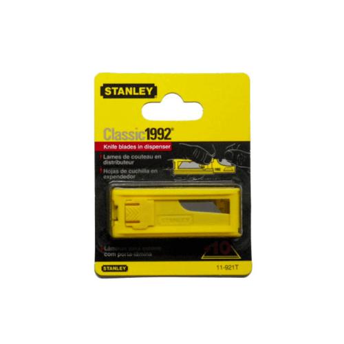 STANLEY ใบมีดคัตเตอร์สำรองขนาด18มม.บรรจุ10ชิ้น/แพ็ค 11-921T