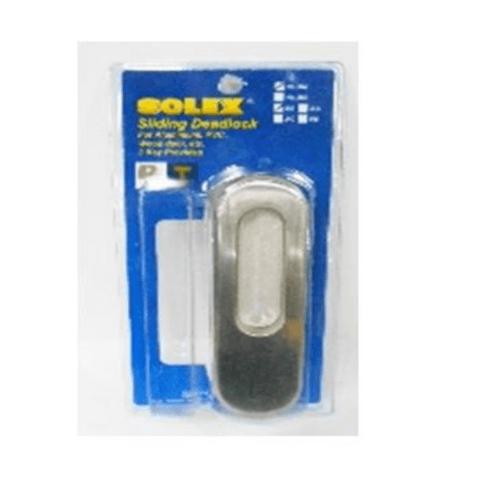 SOLEX มือจับบานเลื่อน NO.252SS-DUMMY  สีขาว