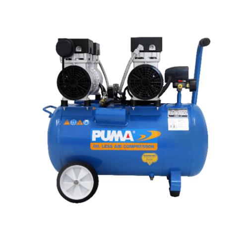 PUMA ปั๊มลมไร้น้ำมัน PUMA 50L  PS-2550B สีน้ำเงิน