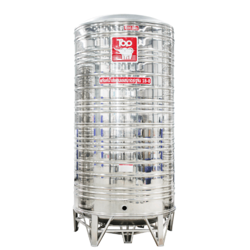 นิว ท็อป เวิลด์ ถังเก็บน้ำสแตนเลสช้างขาว TY - 4000L สีโครเมี่ยม
