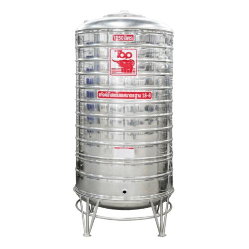 นิว ท็อป เวิลด์ ถังเก็บน้ำสแตนเลส TRH-1250L สีโครเมี่ยม