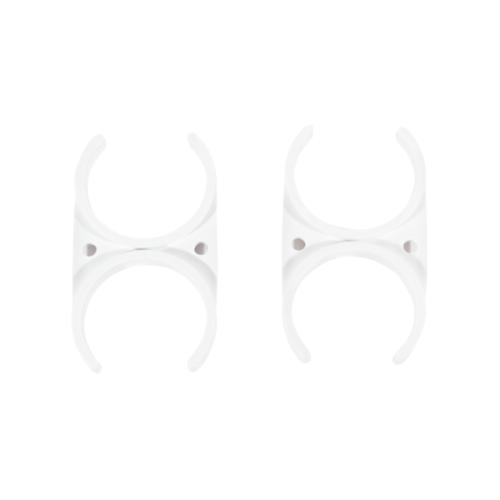 MAZUMA คลิปก้ามปู 12695-F ขนาด 2.5 นิ้ว x 2.5 นิ้ว สีขาว