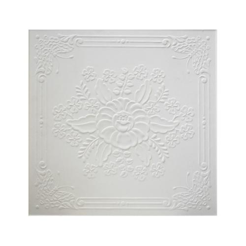 TPS แผ่นยิปซั่มลาย #900 สีขาว