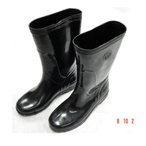 PIPE รองเท้าบู้ทยาว  เบอร์ 10 สีดำ