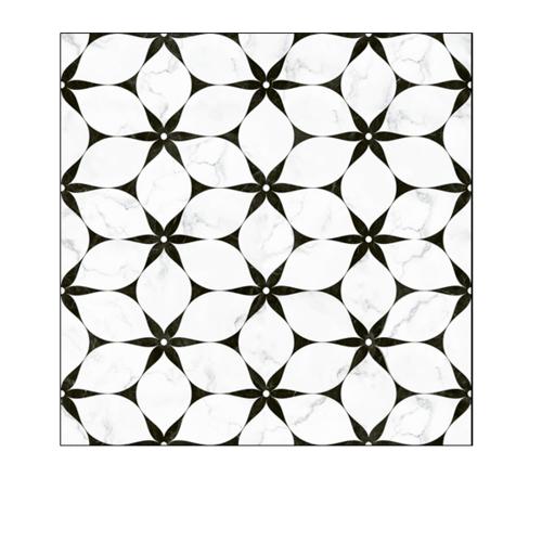 DURAGRES 50X50 ฮานาบิระ ไวท์  (กลอสซี่) (4P) A.