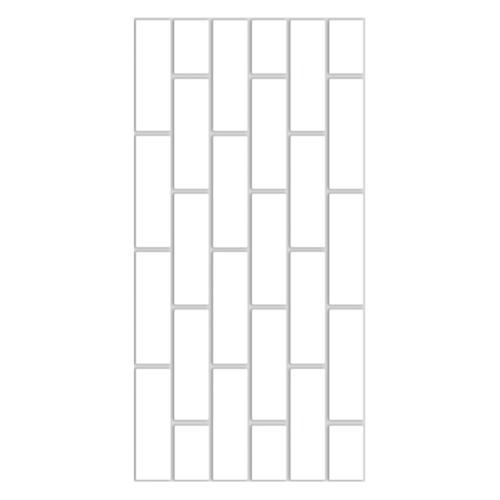 DURAGRES 30x60 cm. โลฮานไวท์  SD-160 (8P) A สีขาว