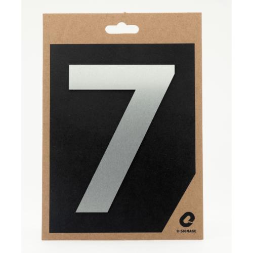 C Signage ป้ายอลูมิเนียม  (ตัวเลข 7)แบบด้าน A1006