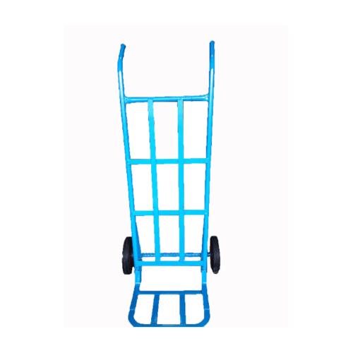 - รถเข็นตลาด หลังตรง (130cm.) ล้อPVC - สีฟ้า