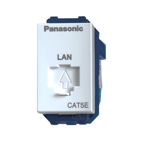 PANASONIC เต้ารับคอมพิวเตอร์  CAT5E WEG2488 WHITE