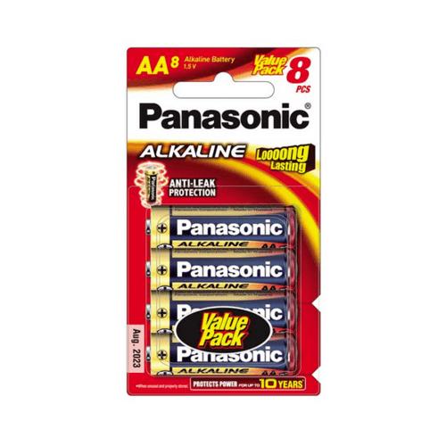 PANASONIC ถ่านอัลคาไลน์ LR6T/8B ''