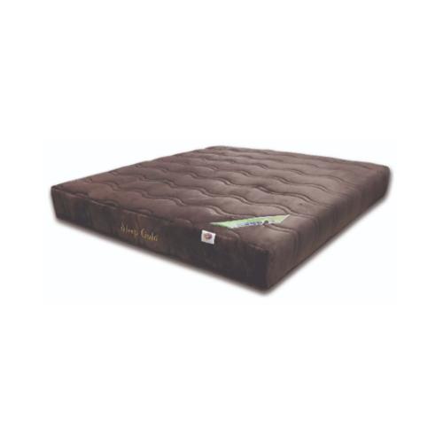 SLEEPER ที่นอนยางพาราอัด ผ้าขนมิ้ง รุ่น Sleeper Gold ขนาด  6 x 9  น้ำตาล