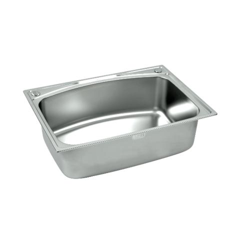 Dyna Home อ่างล้างจานแบบฝัง 1 หลุม ไม่มีที่พัก DH-7050-B สเตนเลส
