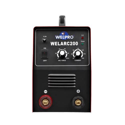 WELPRO เครื่องเชื่อม  (200Amp) WELARC 200 สีแดง-ดำ