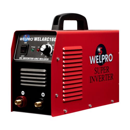 WELPRO เครื่องเชื่อมอินเวอร์เตอร์ WELARC 160 แดง-ดำ