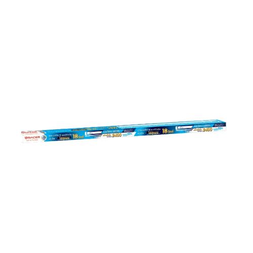 RACER ชุดเซ็ทหลอดไฟ T8 แอลอีดี 18W DL 6800K สปริง ฟูลเซ็ต ไฮลูเมน สีขาว