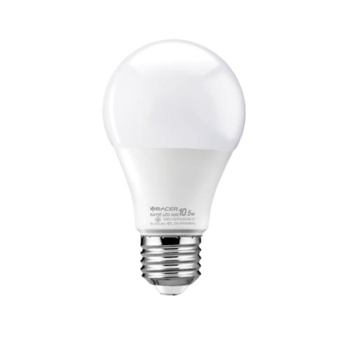 RACER หลอด LED Bulb 10.5W E27 DL 6500K  เคที A60 สีขาว
