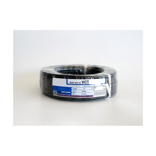 RACER สายไฟ  IEC53 VCT 3x2.5 Sq.mm. 50M. สีดำ