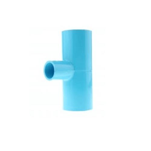 สามบ้าน สามทางลด PVC  ขนาด 55X18 มม. (2X1/2นิ้ว) สีฟ้า