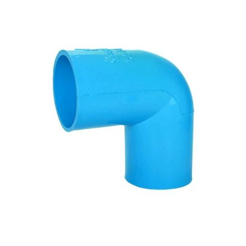 สามบ้าน ข้องอฉาก 90องศา ท่อPVC อย่างหนา 55 มม.  (2นิ้ว) สีฟ้า
