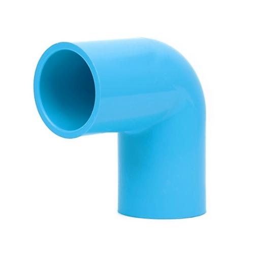สามบ้าน ข้องอ 90 องศา หนา  1 นิ้ว Elbow 90 สีฟ้า