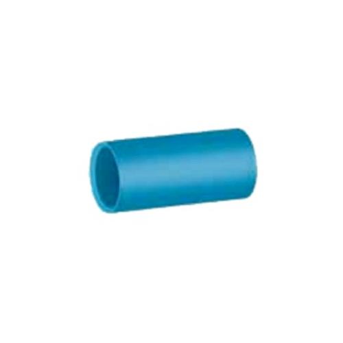 สามบ้าน ข้อต่อตรง(13.5) 1/2 นิ้ว  แบบหนา สีฟ้า
