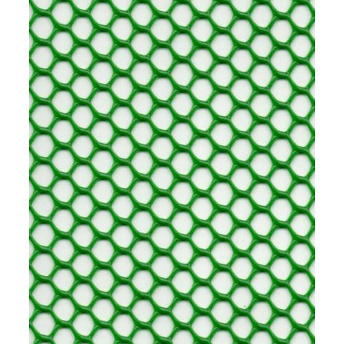 Leo Net ตาข่ายพลาสติก หกเหลี่ยม 17มม x 180ซม x 10ม    #622 สีเขียว