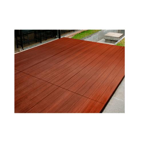 CONWOOD ไม้พื้นคอนวูด รุ่นใหญ่ลายเสี้ยน2.0x120x240ซม.เซาะร่องหน้า6นิ้ว สีธรรมชาติ  Giant Groove 6