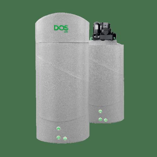 DOS ถังเก็บน้ำแกรนิตเทา + ปั๊มน้ำอัตโนมัติ WATER PAC 700L + EP-205W เทา