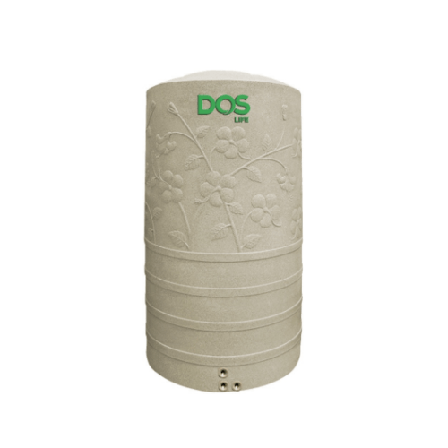DOS ถังเก็บน้ำบนดิน  Chaba CHB-500 สีทราย