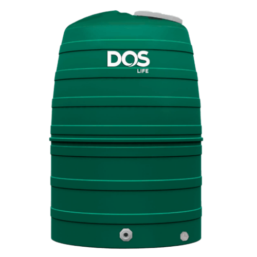 DOS ถังเก็บน้ำบนดิน GREENNERY  ECO/GR-1000L.  สีเขียว