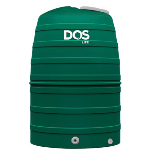 DOS ถังเก็บน้ำบนดิน ECO/GR-2000L. เขียว
