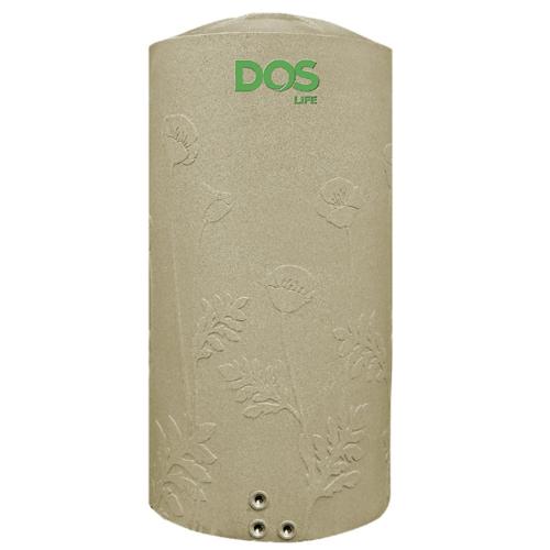 DOS ถังเก็บน้ำบนดิน  สีแกรนิตทราย 2000 ลิตร  BONNIE