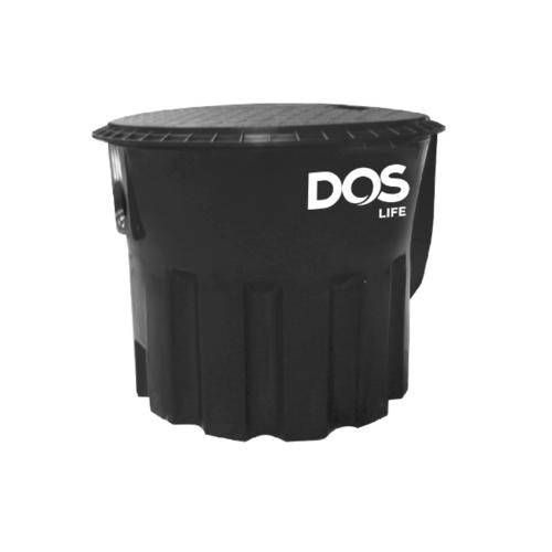 DOS ถังดักไขมัน-ใต้ดิน DGT/U-10P  สีดำ