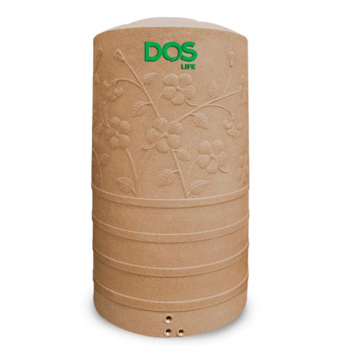 DOS ถังน้ำบนดิน 1050L สีพิงค์โกลด์ CHABA NANO