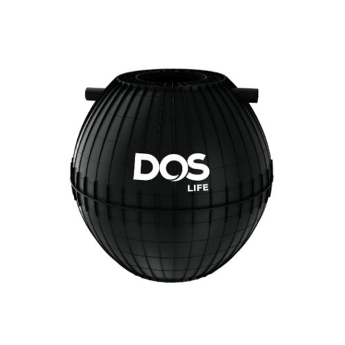 DOS ถังดักไขมันใต้ดิน 1000L  GREASE TRAP สีดำ
