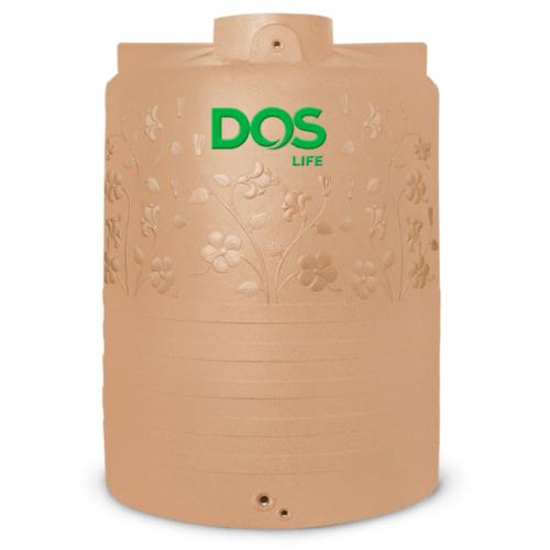 DOS ถังน้ำบนดิน 5000L พิงค์โกลด์ CHABA