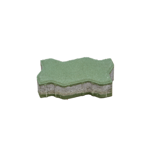 KC บล็อคตัวหนอน 6ซม.สีเขียว -