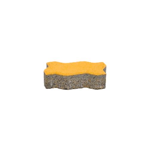 KC บล็อคตัวหนอน 6ซม.สีเหลือง -