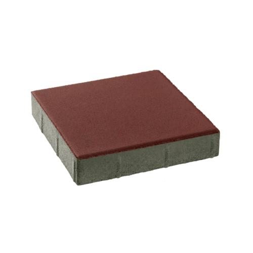 KC บล็อคสี่เหลี่ยม  40x40x4ซม. สีแดง
