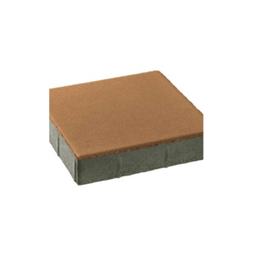 KC บล็อคสี่เหลี่ยม  40x40x6ซม.  สีเหลือง