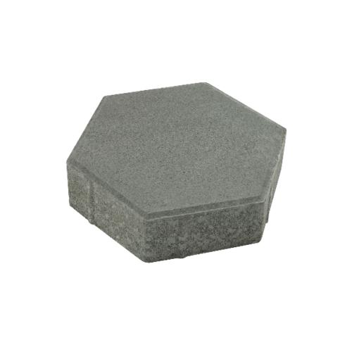 KC บล็อคหกเหลี่ยม  30x30x6ซม. สีเทา