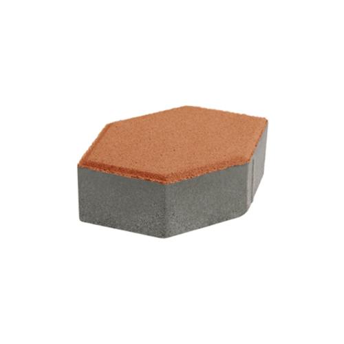 KC บล็อคหกเหลี่ยม  30x30x6ซม. สีเหลือง