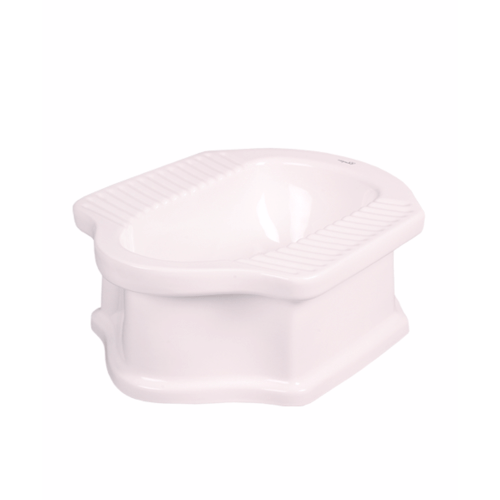 ส้วมนั่งยองแบบมีฐาน TC-032 white ขาว